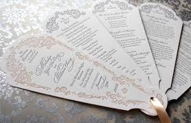 wedding-program